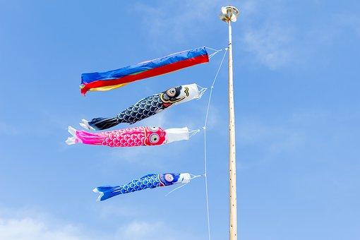 鯉のぼりの風車の作り方【動画】折り紙で幼稚園児と簡単に